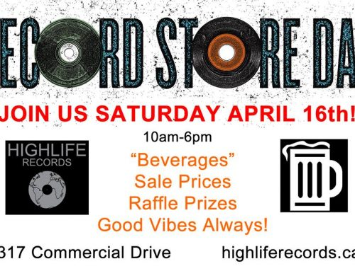 Record Store Day 2016!