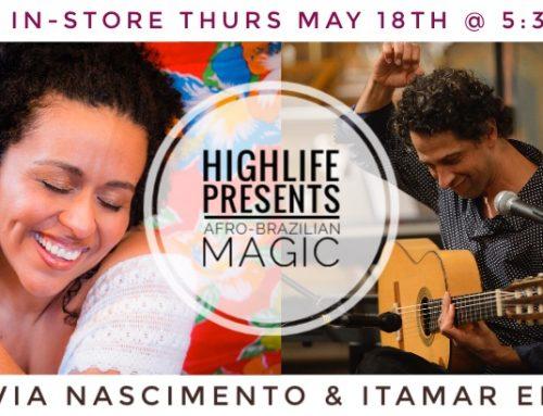 Live In-Store Flavia & Itamar!