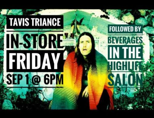 In-store: Tavis Triance: Friday Sep 1 @ 6pm
