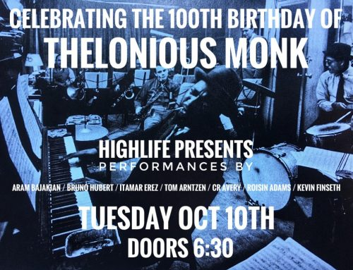 Live In-Store: A 100th Birthday Celebration of Thelonious Monk