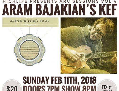 ARAM BAJAKIAN'S KEF: House Concert