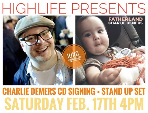 CHARLIE DEMERS IN-STORE