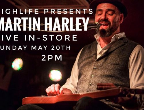 In-store: MARTIN HARLEY: Sun May 20: 2pm