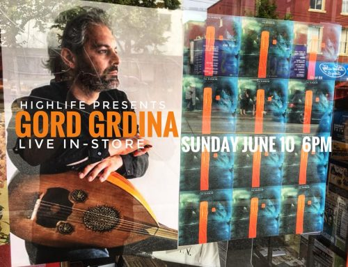In-Store: GORD GRDINA Sunday June 10