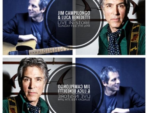 In-Store: Jim Campilongo & Luca Benedetti SUN FEB 17th 2pm