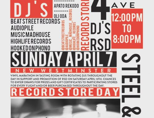 Sunday: PRE-RECORD STORE DAY PARTY AT STEEL & OAK