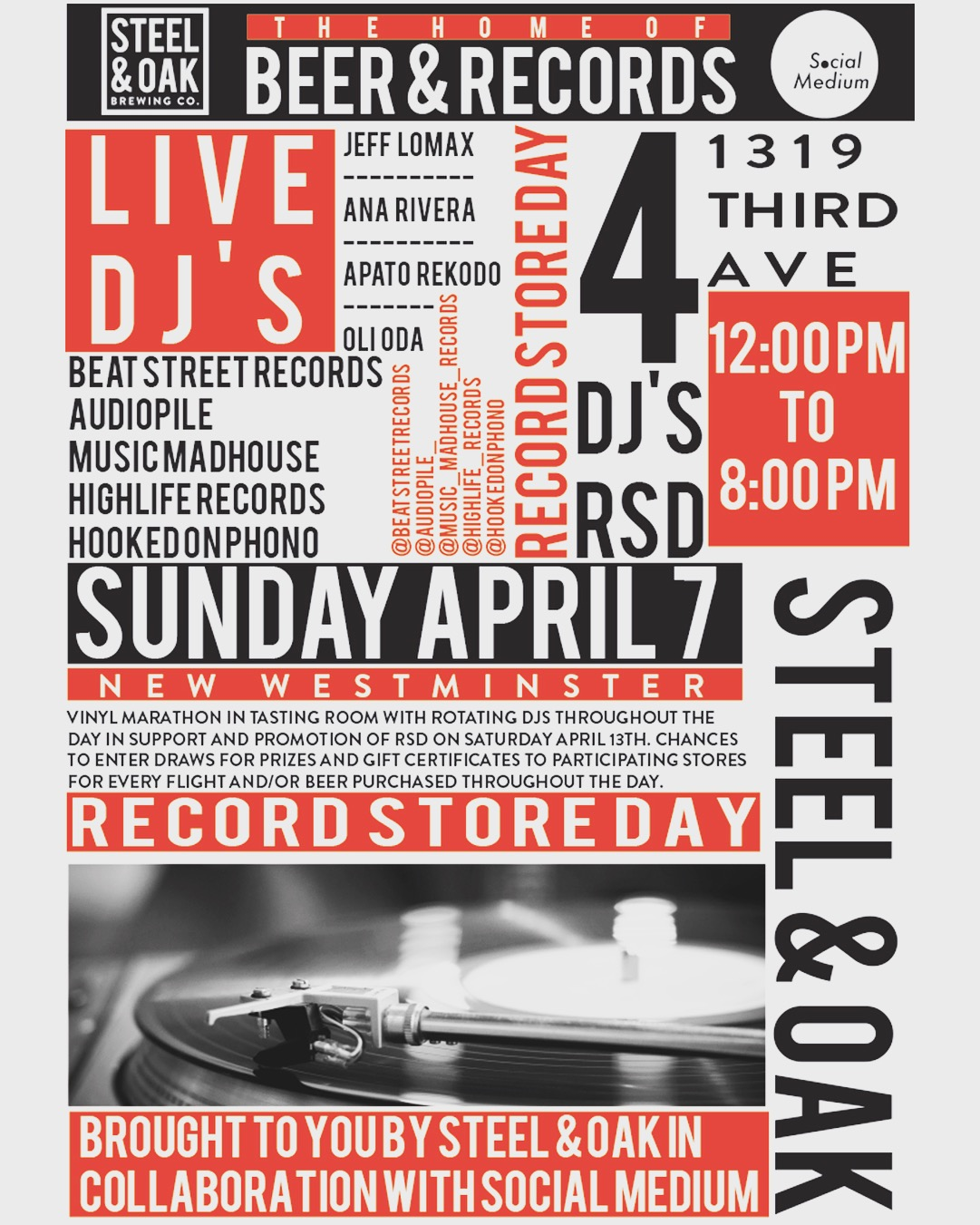 Highlife Records - Vancouver Vinyl LPs, CDs and Tapes