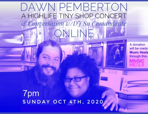 DAWN PEMBERTON LIVE AT HIGHLIFE
